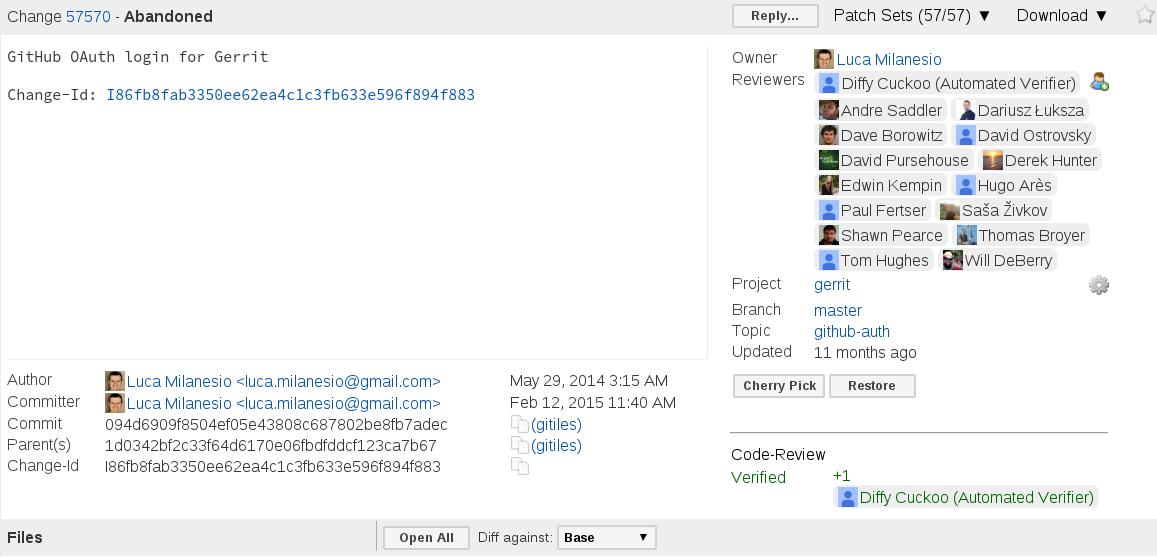 Gerrit User Authentication (1)